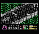 Highway Encounter MSX I must be careful of enemies.