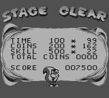 Mr. Nutz Game Boy Stage clear