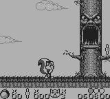 Mr. Nutz Game Boy Beginning of level 2