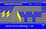 Excitebike PC-88 There are some...interesting obstacles in this game.