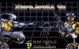 Paradroid 90 Atari ST Title screen
