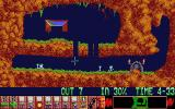 Lemmings Atari ST Dig your way through the first level
