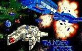 Thunder Force PC-88 Splash screen (SR ver.)