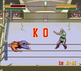 Astral Bout SNES Knock Out