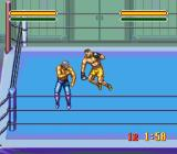 Astral Bout SNES Sparring in the ring