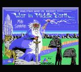 J.R.R. Tolkien's War in Middle Earth MSX Loading screen