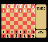 Master Chess MSX Starting the game.