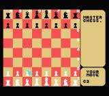 Master Chess MSX I've selected the pawn at C2...