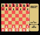 Master Chess MSX ...and moved it to C4.
