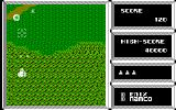 Xevious PC-88 Shooting some spinning UFOs