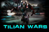 Tilian Wars iPhone Tilian Wars title screen.