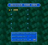 Super Tetris 2 + Bombliss SNES Register a name (or more likely initials since the game can only handle three chracters)