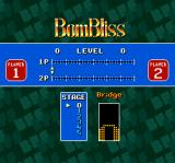 Super Tetris 2 + Bombliss SNES Setting up a 2 player game of Bombbliss