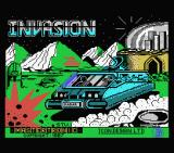 Invasion MSX Loading screen
