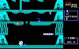 Ice Climber PC-88 Knocked off the mountain by an enemy
