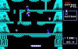 Ice Climber PC-88 The floor with the lines is slippery ice