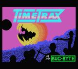 Time Trax MSX Title and loading screen