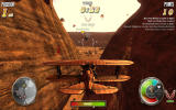 DogFighter Windows A canyon-themed level
