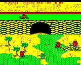 Commando BBC Micro Level 1 at the bridge