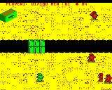 Commando BBC Micro Level 2 destroy the pillboxes