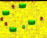 Commando BBC Micro Level 3 more concrete defenses