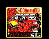 Commando BBC Micro Loading screen