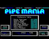 Pipe Dream BBC Micro Title and High score screen
