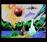 Score 3020 MSX Loading screen