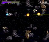 Chō Jikū Yōsai Macross: Scrambled Valkyrie SNES Destroyed some enemies
