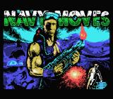 Navy Moves MSX Loading screen