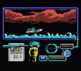 Navy Moves MSX On rough seas.