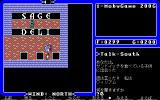 Ultima IV: Quest of the Avatar PC-98 Note the different dialogue interface in PC-98 version