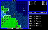Ultima IV: Quest of the Avatar PC-98 Sea monsters in the sea, some horses on the land... okay...