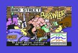 Bad Street Brawler Commodore 64 Bad Street Brawler title screen