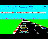 Pole Position BBC Micro Start of the race