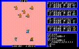 Exodus: Ultima III PC-98 Battle in a dungeon