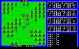 Exodus: Ultima III PC-98 Battle in a forest!