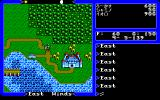 Ultima V: Warriors of Destiny PC-98 Outside of Lord British's castle. My, talk about urban growth :)