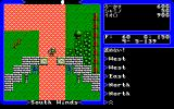 Ultima V: Warriors of Destiny PC-98 Typical town entrance with Blackthorne's stupid virtues :)