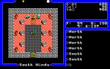 Ultima V: Warriors of Destiny PC-98 The sad-looking throne room...