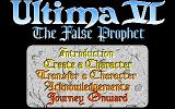 Ultima VI: The False Prophet PC-98 And now the proper title screen...