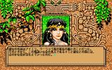 Worlds of Ultima: The Savage Empire PC-98 Nice-looking lady!