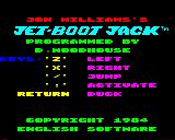 Jet-Boot Jack BBC Micro The loading screen