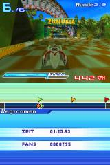 Speed Racer: The Videogame Nintendo DS The Zunubia finish line.