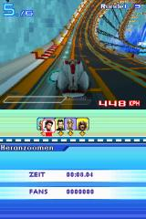 Speed Racer: The Videogame Nintendo DS The Fuji track is famous for the many loopings.