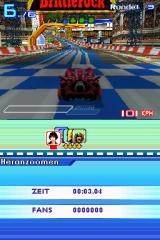 Speed Racer: The Videogame Nintendo DS The Brittlerock Finish Line.