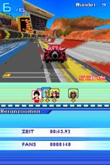 Speed Racer: The Videogame Nintendo DS On the Brittlerock track.