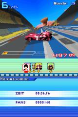 Speed Racer: The Videogame Nintendo DS The cars can rotate their wheels in any direction - you can drive sideways or even backwards at almost full speed!