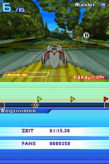 Speed Racer: The Videogame Nintendo DS On the Zunubia track.
