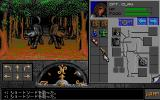 Eye of the Beholder II: The Legend of Darkmoon PC-98 Now there are TWO wolves, I find nothing better but open my inventory...